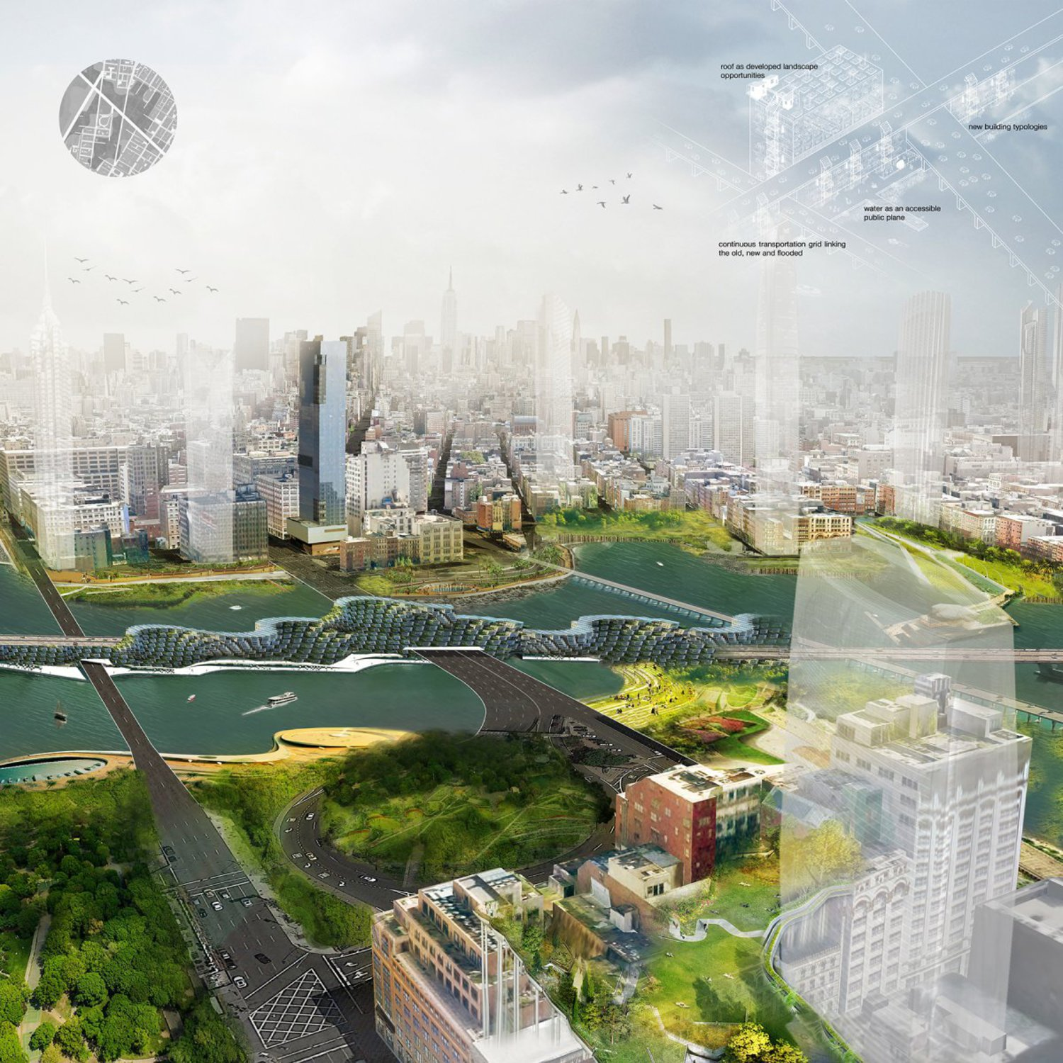 Luz's vision for New York City in 2050
