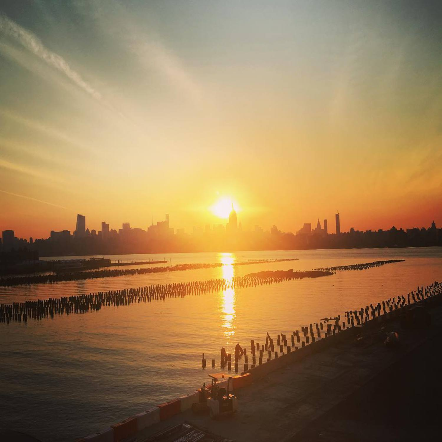 #manhattan #sunrise