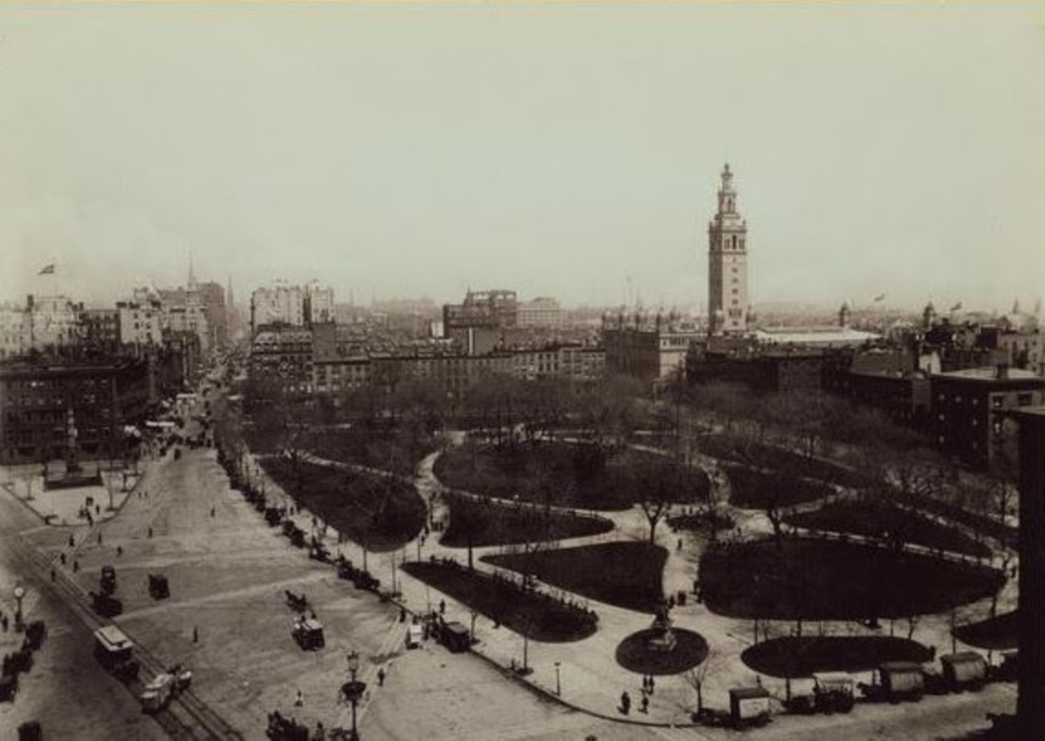 Look at Madison Square Park in 1893 – Pre-Privatization & Shake Shack
