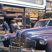 New York 1945 in color, Street Scenes [60fps, Remastered] w/added sound