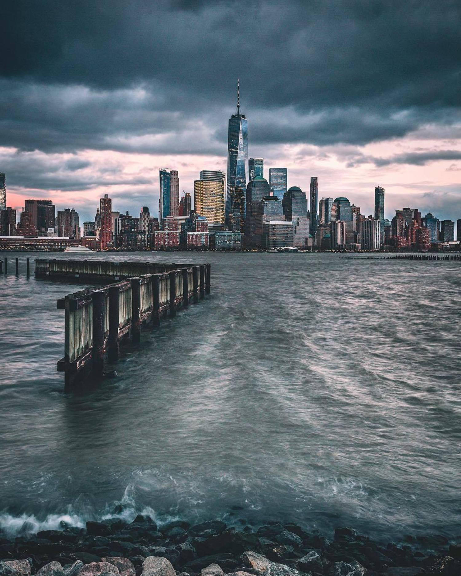 Lower Manhattan Skyline from Jersey City, New Jersey