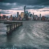 Lower Manhattan Skyline from Jersey City, New Jersey