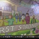 New 'Elmhurst Strong' Mural At Elmhurst Hospital Inspires Hope