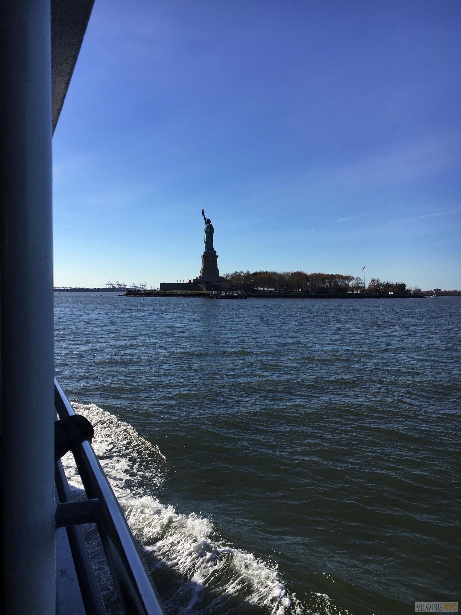 Liberty Island and Statue of Liberty