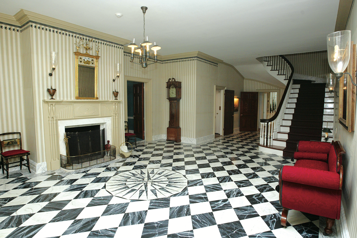 The Foyer of Gracie Mansion