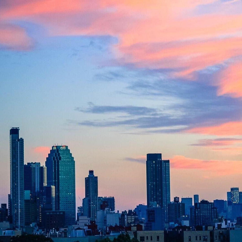 Sunset over Queens, New York. Photo via @mvdambrosio #viewingnyc