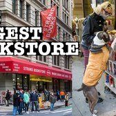 NYC BIGGEST BOOKSTORE: STRAND BOOKS