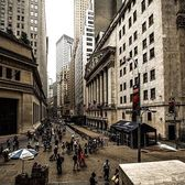 Wall Street and Broad Street, New York, New York. Photo via @m_bautista330 #viewingnyc #newyork #newyorkcity #nyc