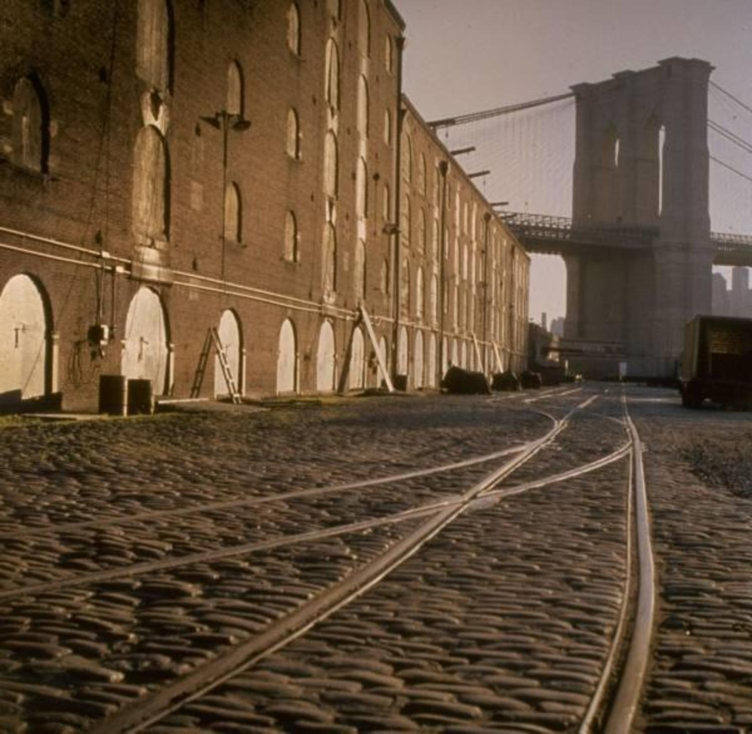 Brooklyn Staten Island Car: Vintage Photograph Shows Abandoned Dumbo Waterfront In
