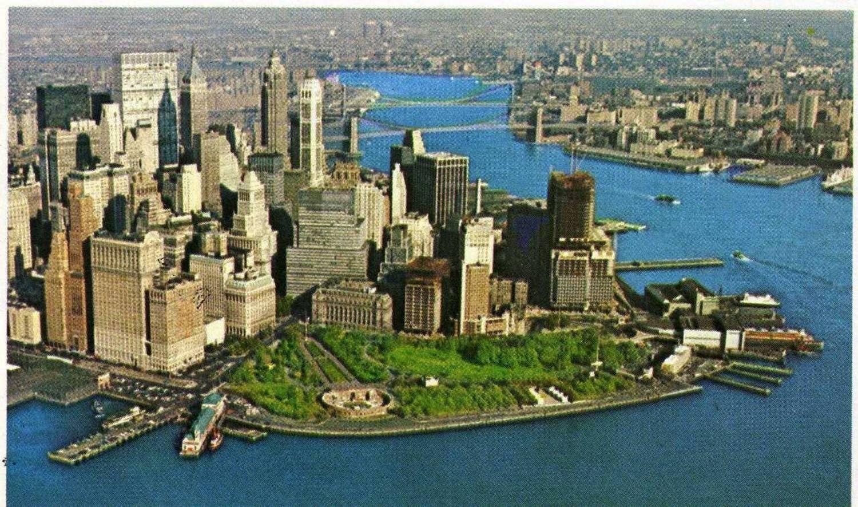 Battery Park, Lower Manhattan, 1968