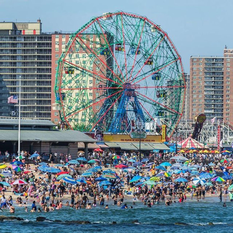 Coney Island Beach, Brooklyn