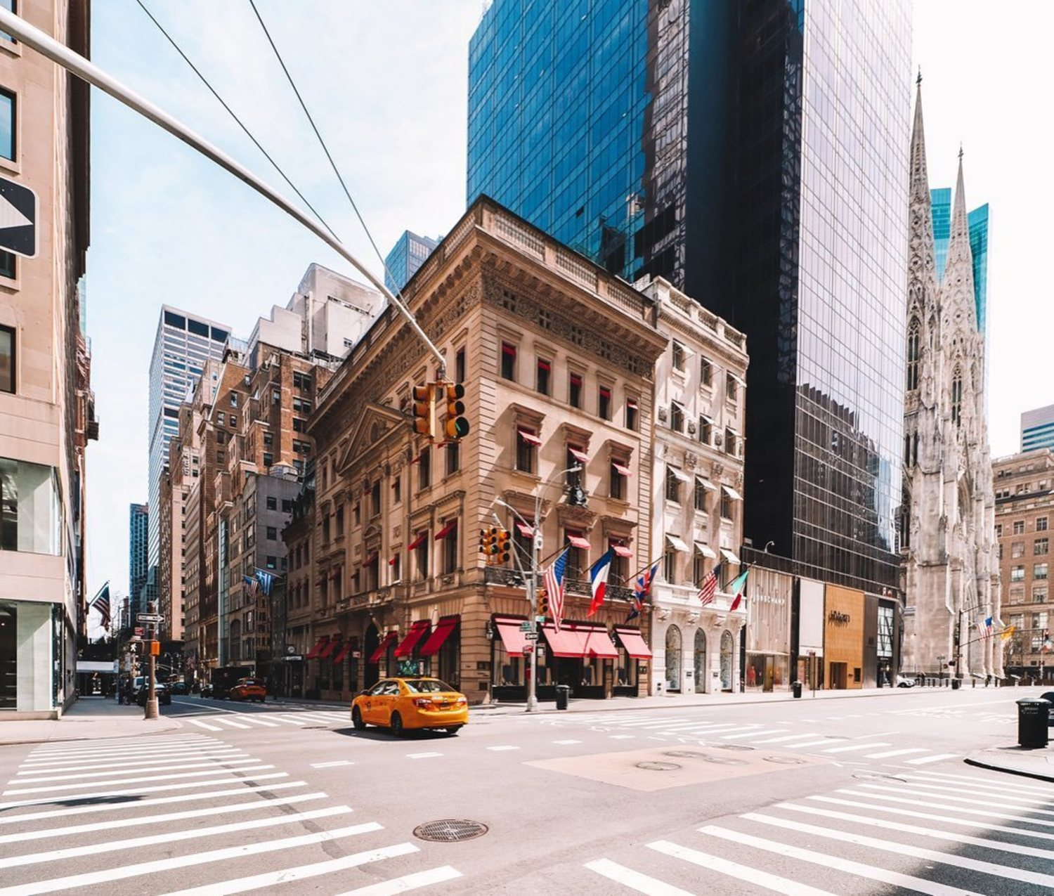 5th Avenue and 52nd Street, Midtown, Manhattan