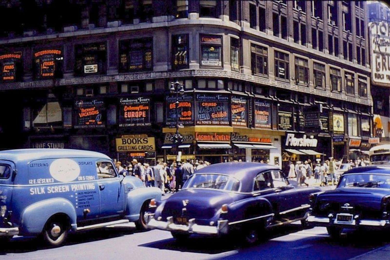 42nd Street & Broadway , 1954