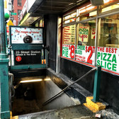 NYC Subway and NYC Pizza Slices