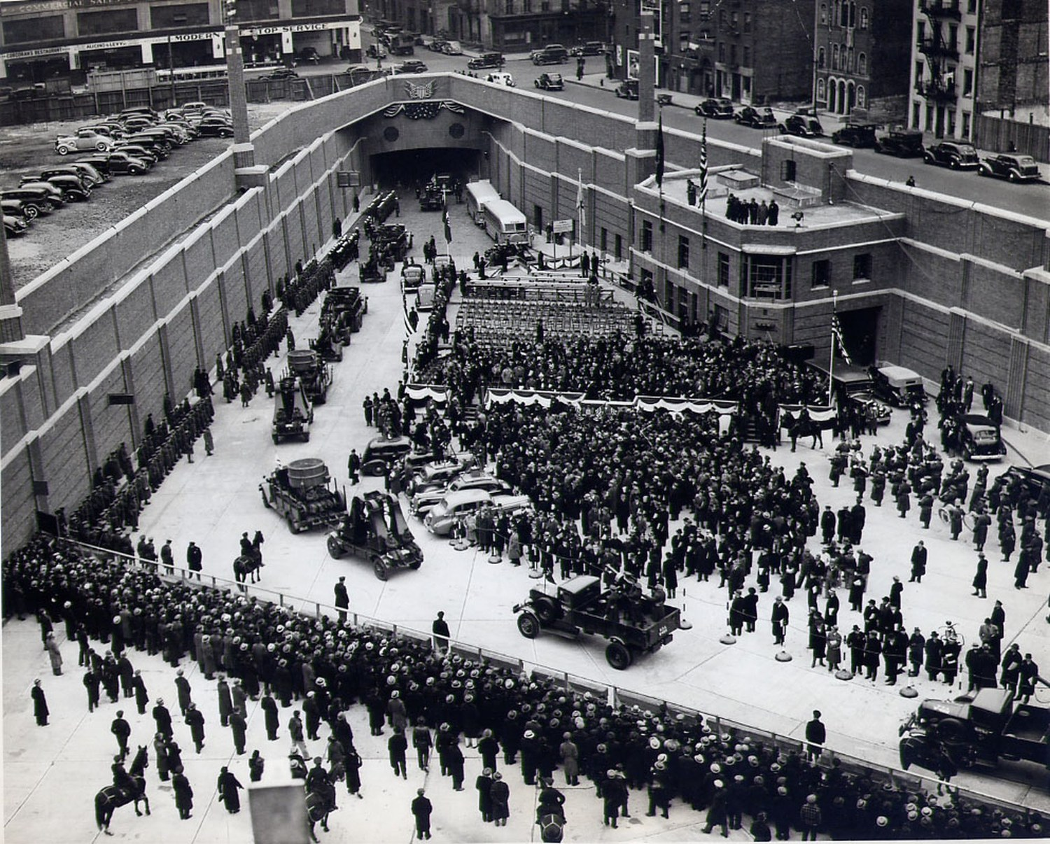 Lincoln Tunnel, Opening Day, December 22nd, 1937