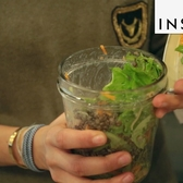 You can eat your food out of a jar at NYC's Ancolie