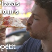 23 New York Pizza Slices in 36 Hours. Which is the Best? | Bon Appétit
