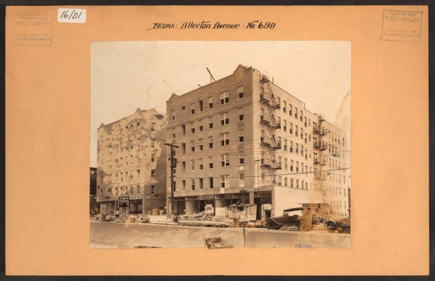 Bronx: Allerton Avenue – White Plains Road 1930