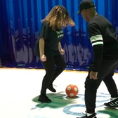 Sports exhibit in Brooklyn allows you to be active, embrace art   In Our Backyard