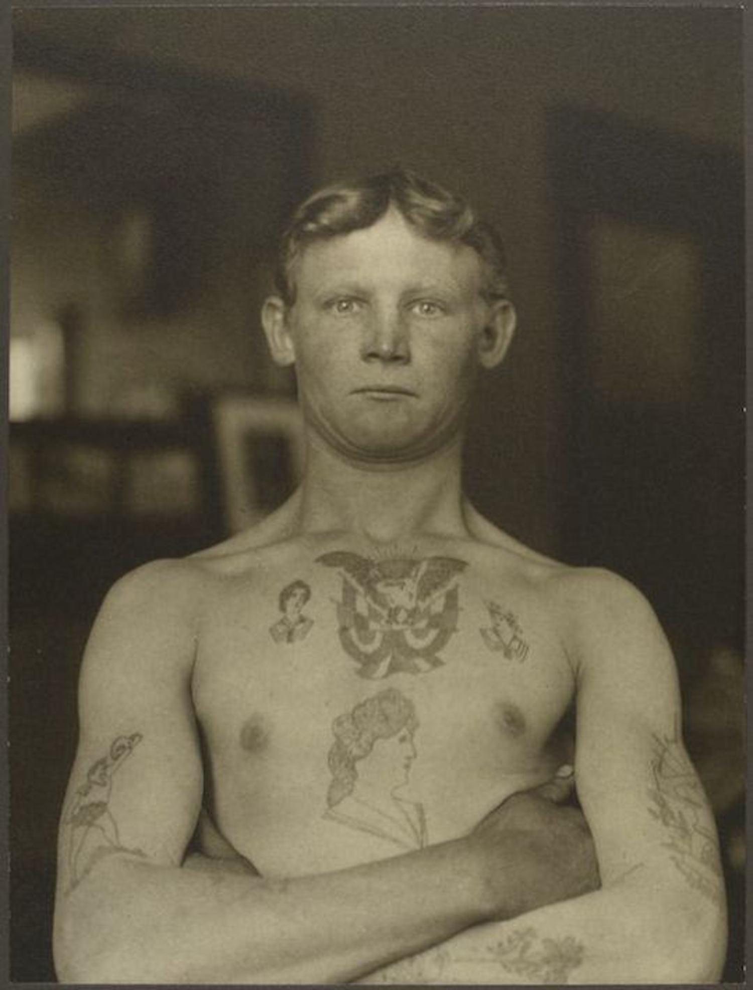 A German Stowaway. Portraits for Ellis Island.