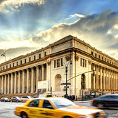 "James Farley Post Office | James Farley Post Office, Manhattan, NYC <a href=""http://en.wikipedia.org/wiki/James_Farley_Post_Office"" rel=""nofollow"">Wiki</a> The post office I always go to."
