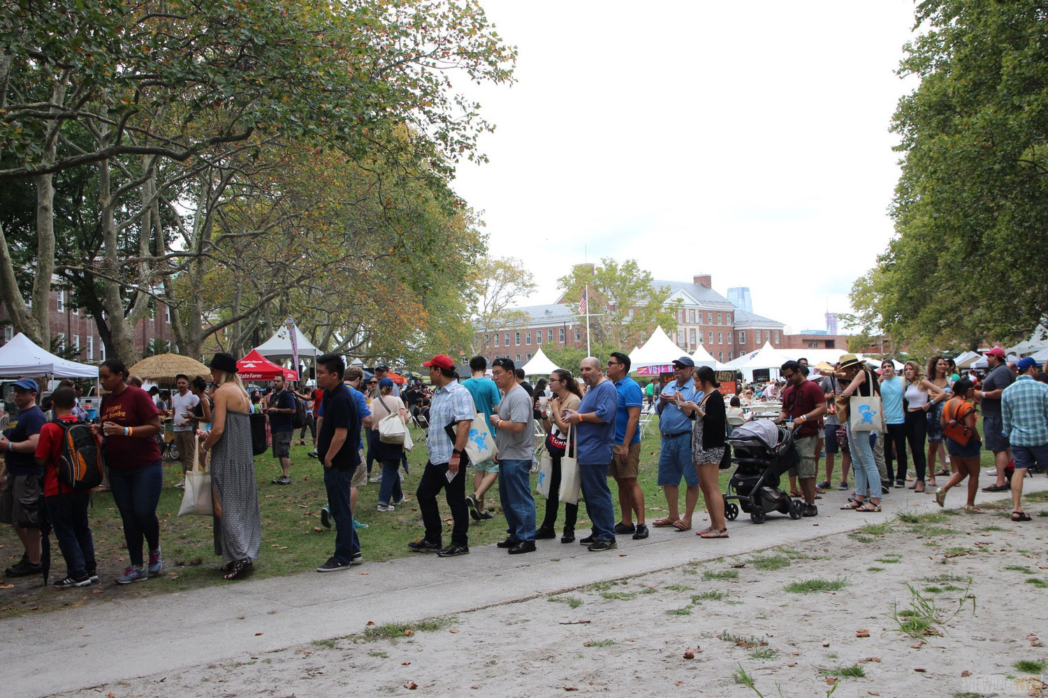 2015 Vendy Awards on Governors Island