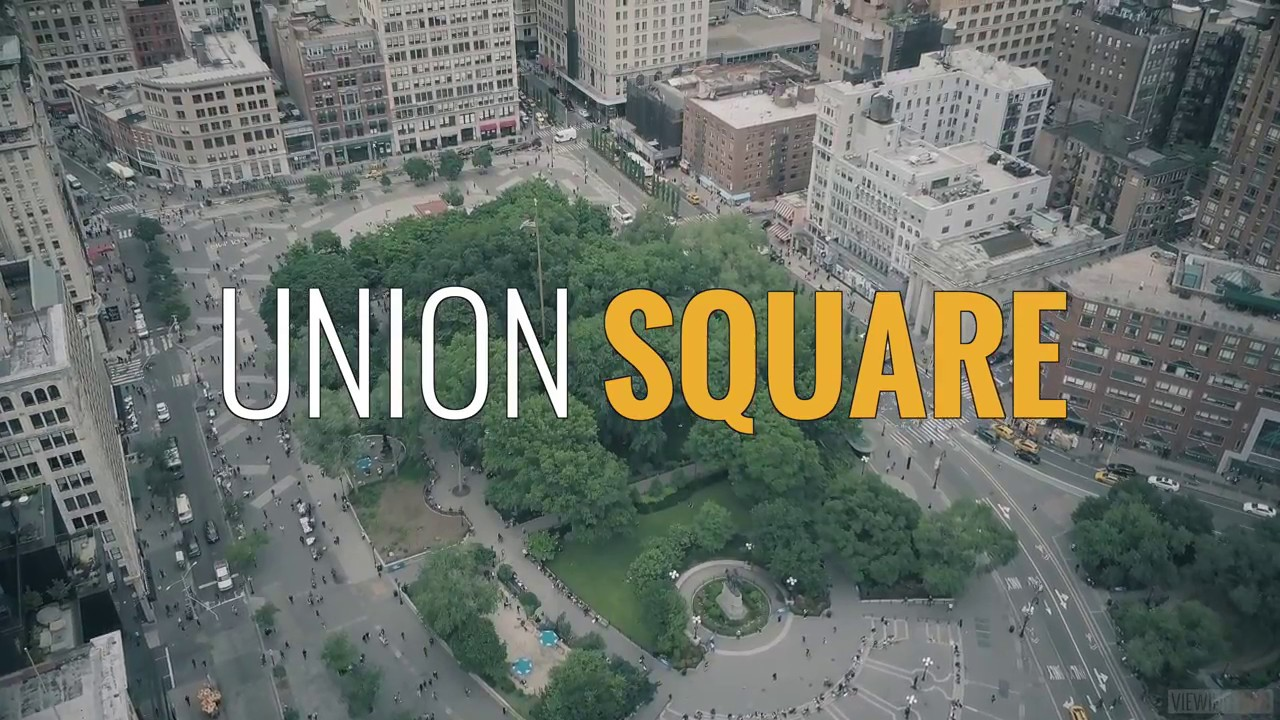 Above new york union square park viewing nyc sciox Image collections
