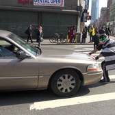 Peatónito is in NYC: Protecting Pedestrians from Cars in the Crosswalk