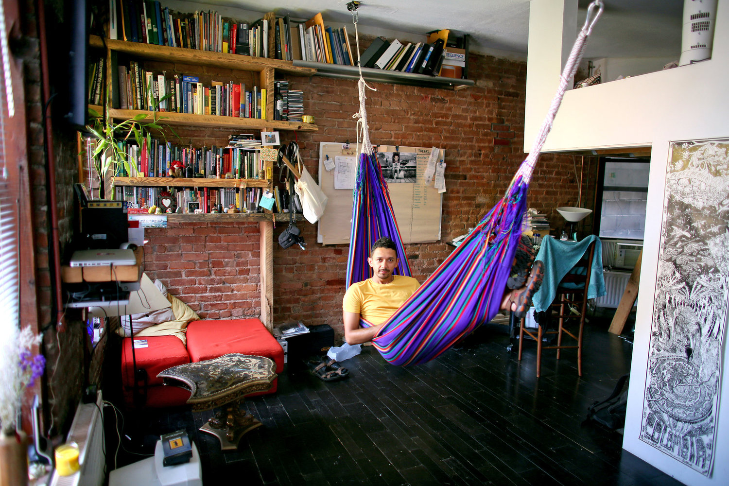 Miguel Valderrama was the first person to buy an apartment at Umbrella House following an agreement with the city to legalize the building. He paid $45,000 for a 300-square-foot apartment in 2009.
