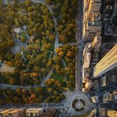 Columbus Circle and Central Park, Manhattan
