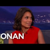 Rosario Dawson Wants To Mug New Yorkers  - CONAN on TBS