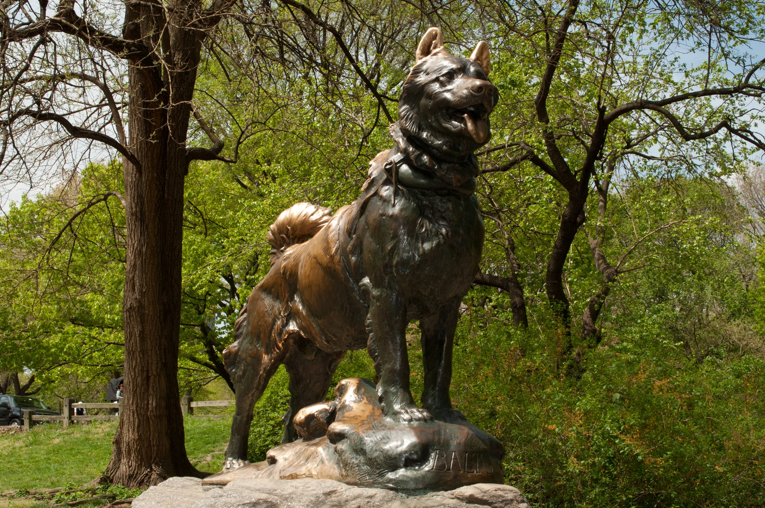 NYC 2012-0014 | Central Park - Balto Statue