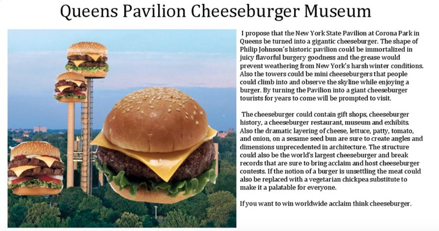 Queens Pavilion Cheeseburger Museum