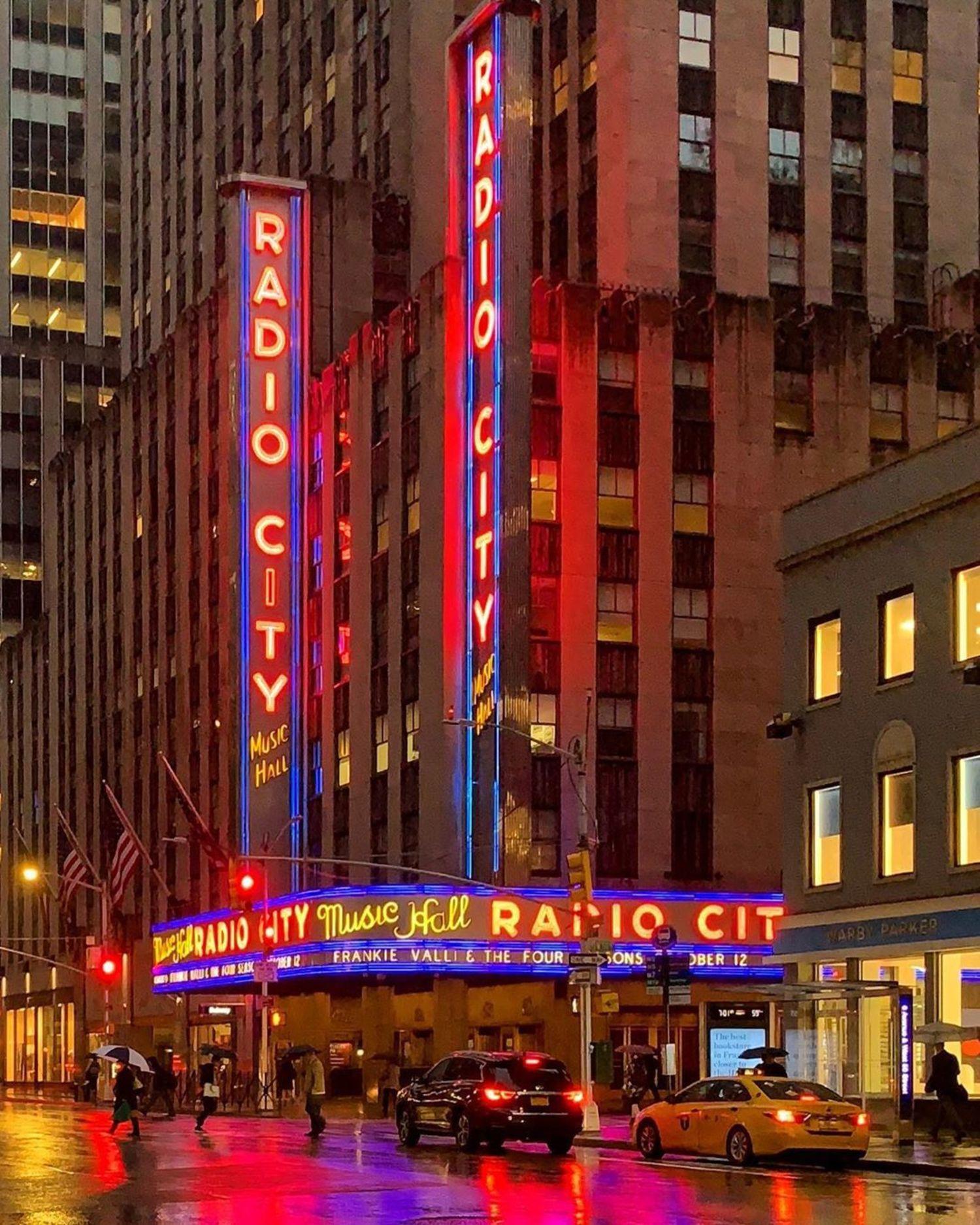 Radio City Music Hall, Midtown, Manhattan