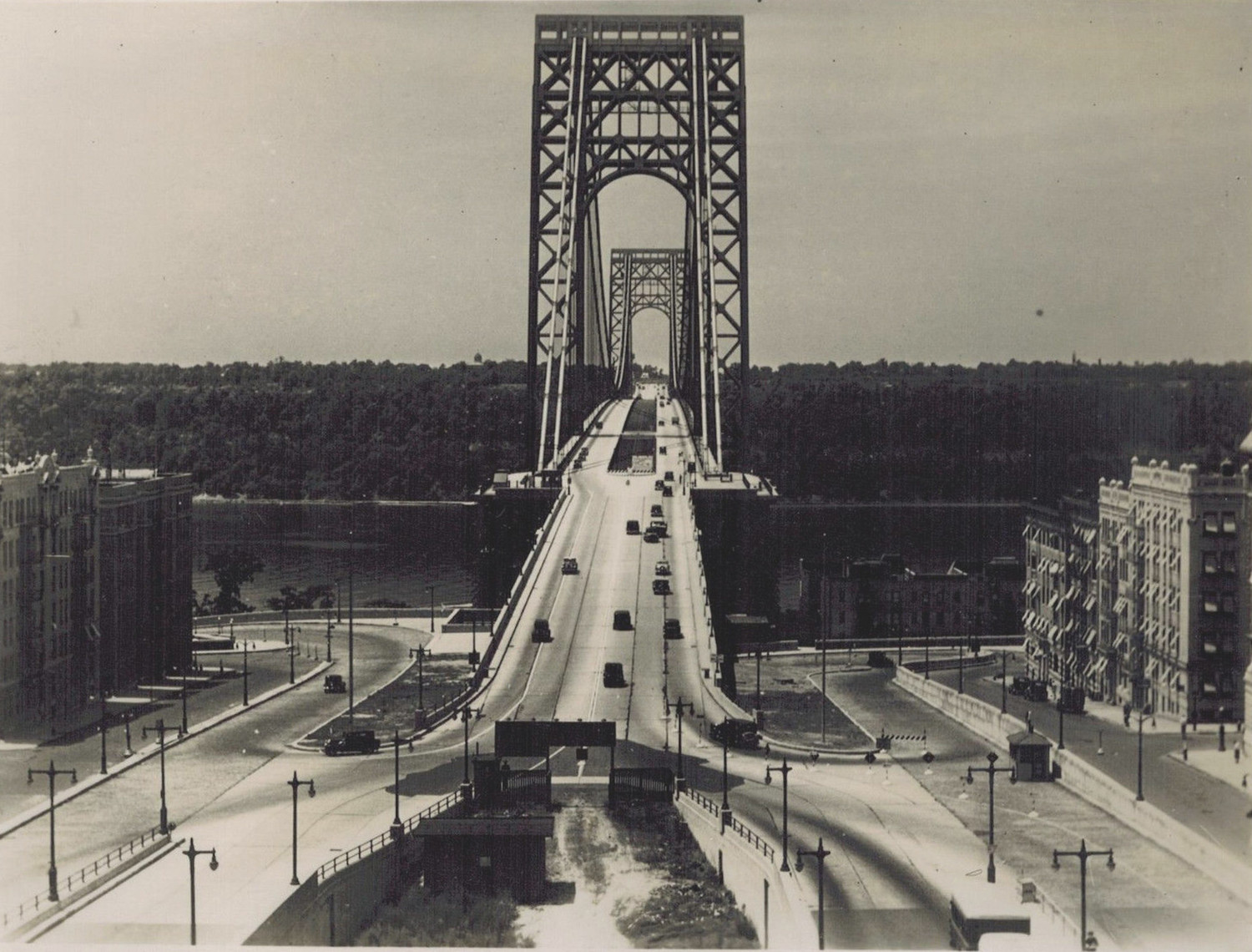 The George Washington Bridge as seen from 179th Street – 1934