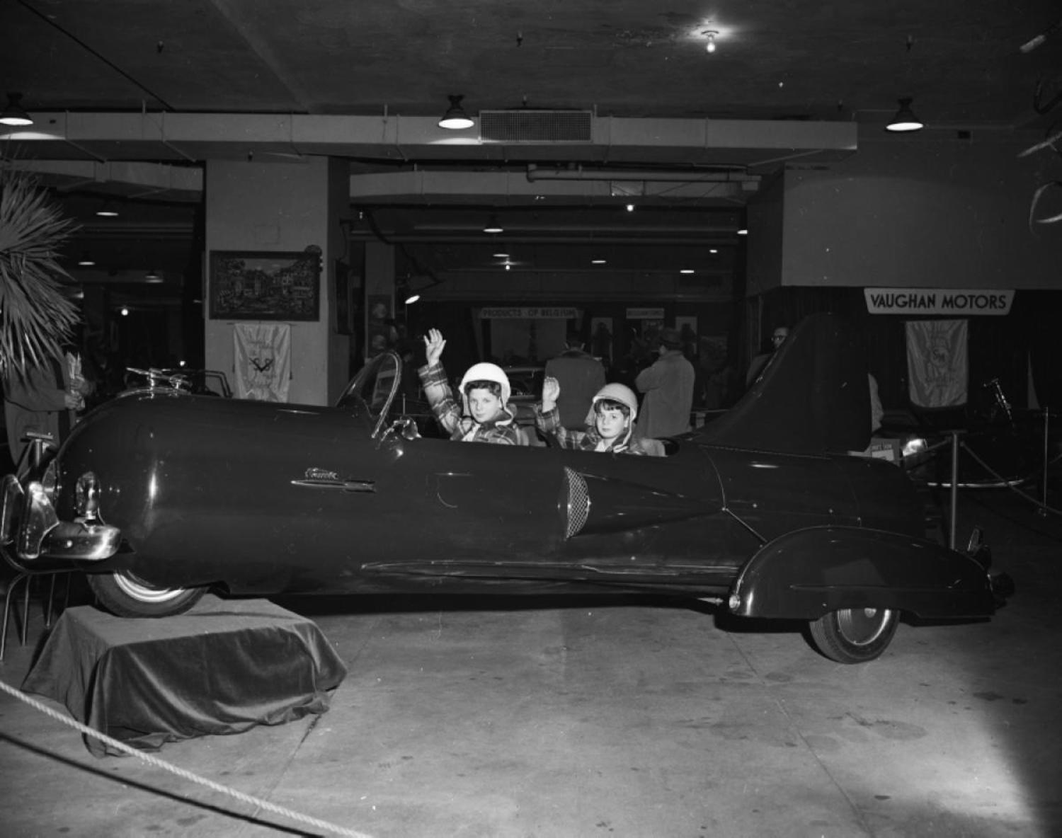 Wings and space-age car design were all the rage in the 1950s.