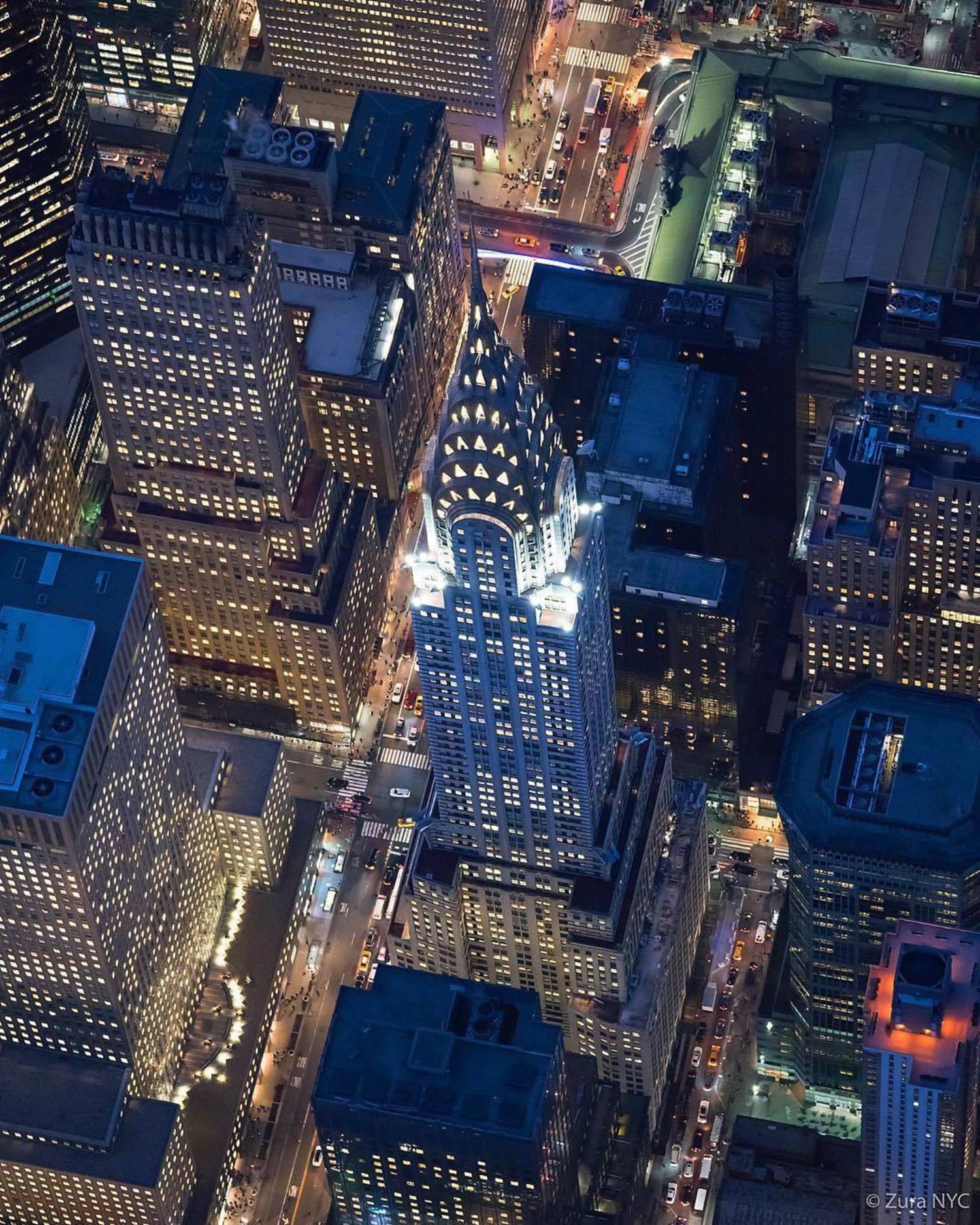 Chrysler Building, Manhattan. Photo via @zura.nyc #viewingnyc #nyc #newyork #newyorkcity #chryslerbuilding