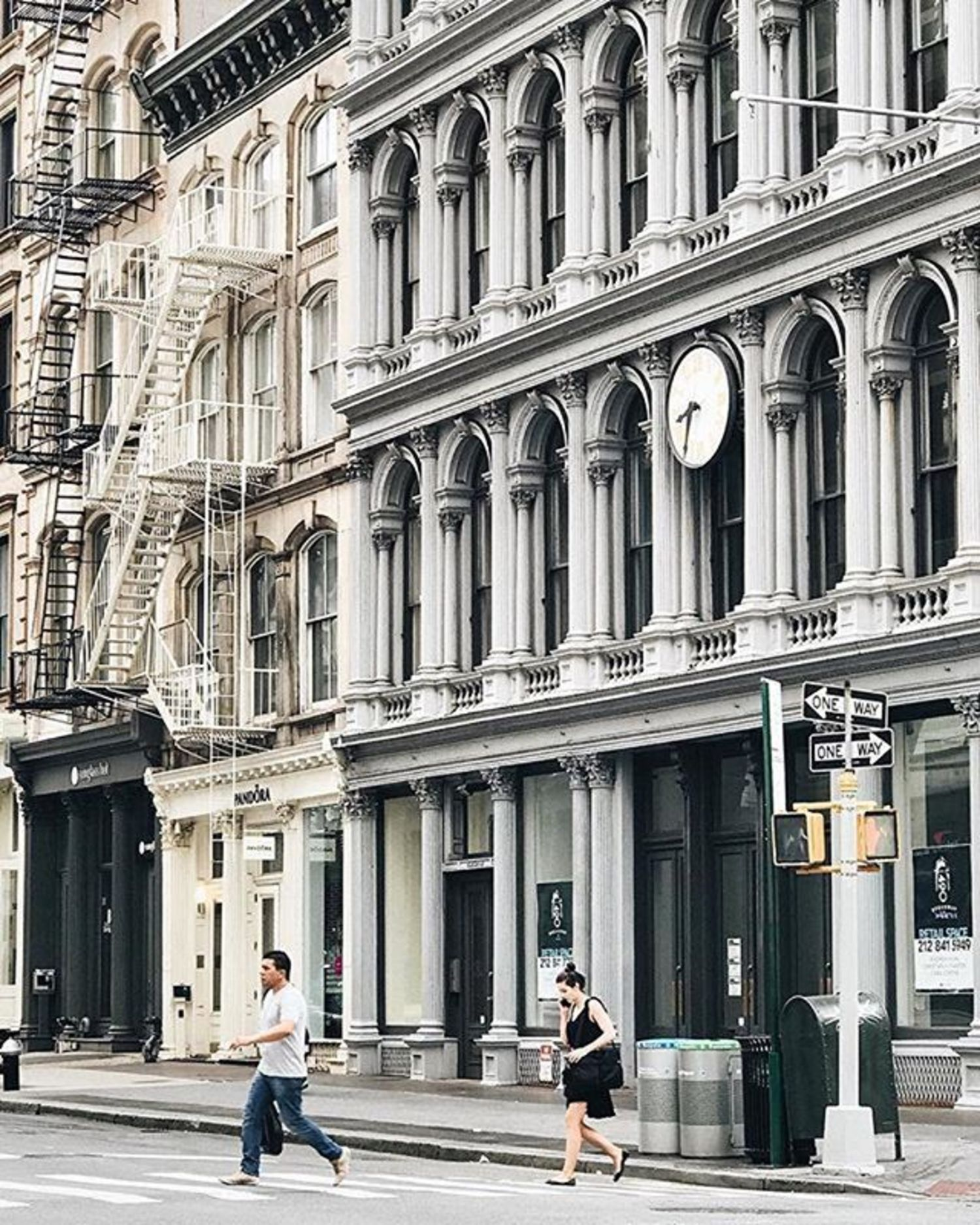 Soho, New York City. Photo via @melliekr #viewingnyc