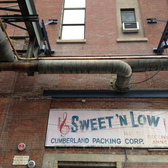 Sweet 'n Low | Sweet 'n Low packing plant at the Brooklyn Navy Yard. Taken during OHNY 2012.