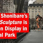 Yinka Shonibare's Wind Sculpture is now on display in Central Park