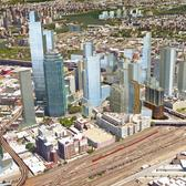 Rendering of Long Island City's Under-Construction and Planned Skyscrapers