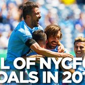 All of NYCFC's Goals in 2016