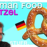 GERMAN STREET FOOD VS NYC STREET FOOD : Pretzel / Bretzel [ Germany travel vlog guide ]
