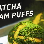 Making White Chocolate-Stuffed Matcha Cream Puffs at NYC's Bibble & Sip - The Process