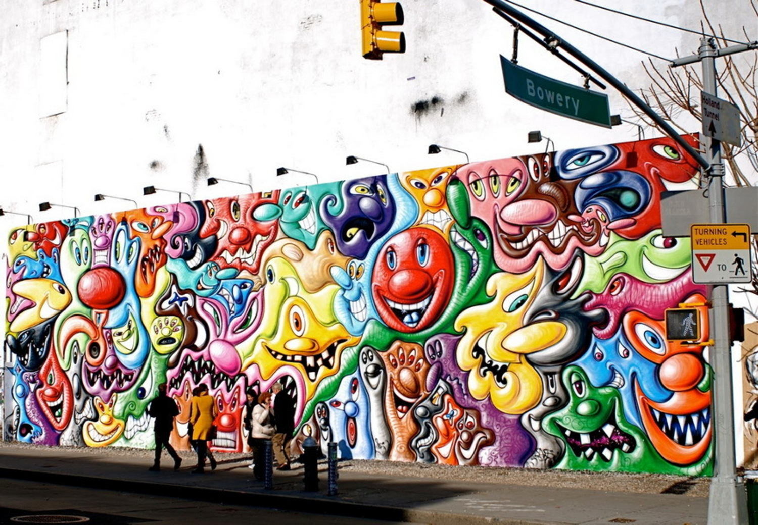 Kenny Scharf - Early Works Influenced by Hanna Barbera Cartoons