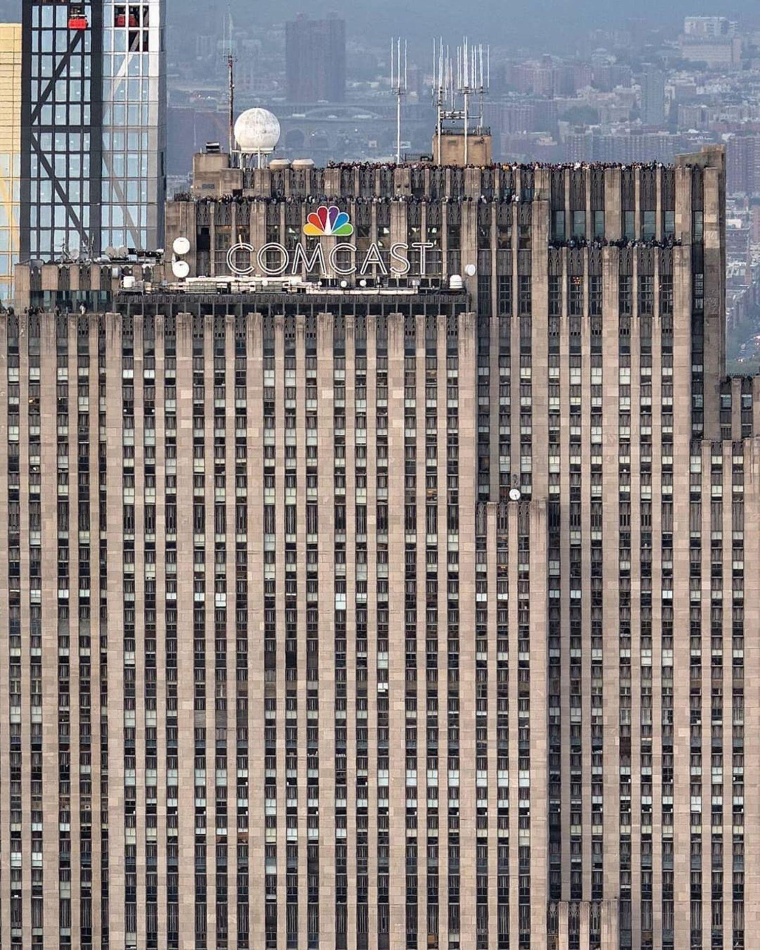 30 Rockefeller Plaza, New York, New York.