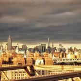 Manhattan from Brooklyn Bridge. #heritage #nofilter #manhattan #brooklyn #brooklynbridge #usa #sonyalpha_id #sonyalpha6000 #nofilter #sunset #sonyImages