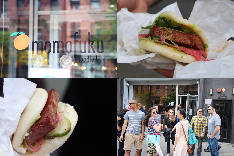 Momofuku Noodle Bar   2016 Viewing NYC East Village Pork Bun Crawl