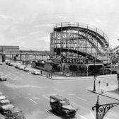 The Cyclone, Surf Avenue, Coney Island, Brooklyn, 1950