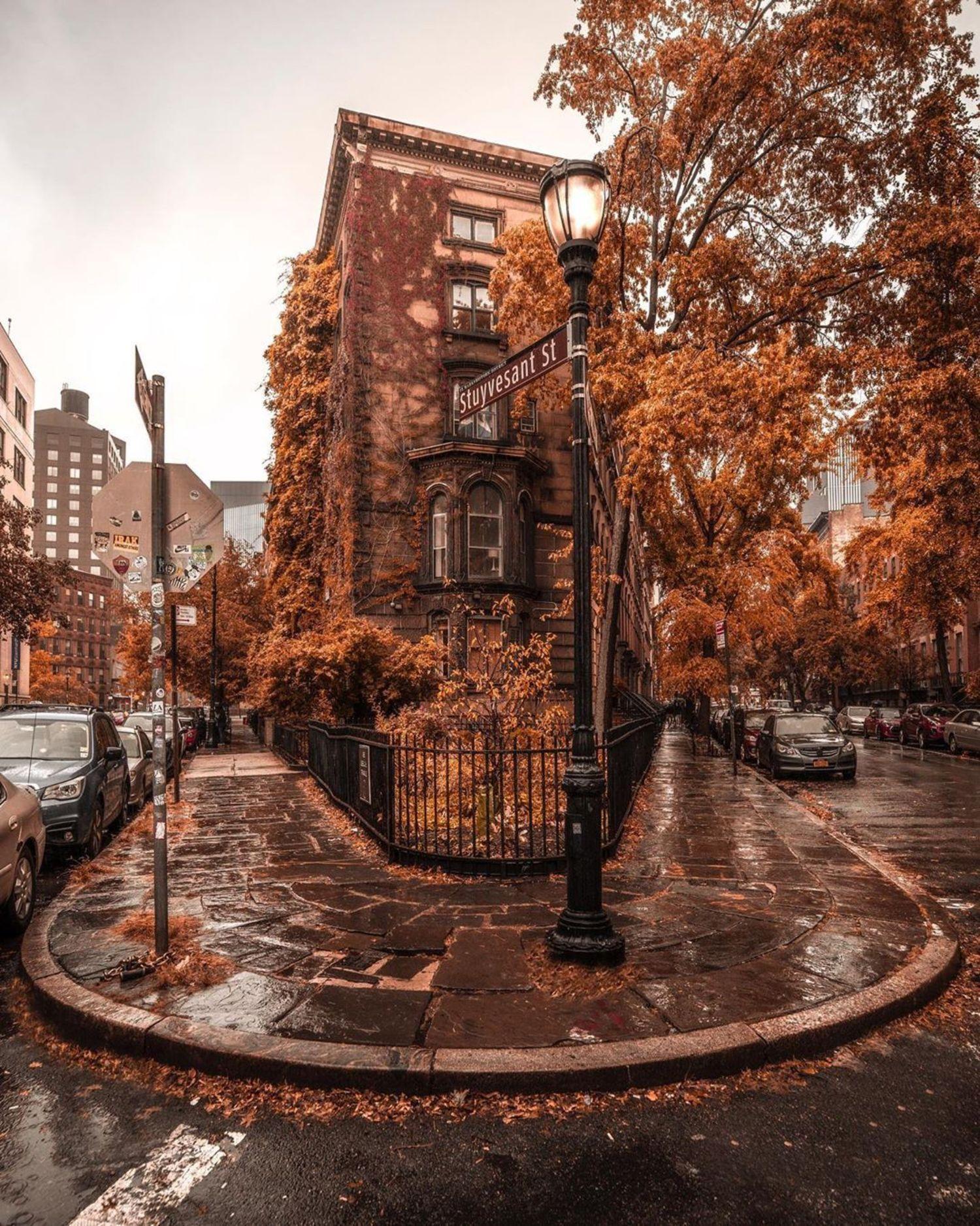 Abe Lebewohl Triangle, East Village, Manhattan